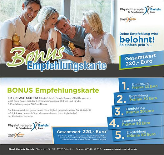 Physiotherapie Bartels in Salzgitter